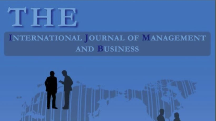 The International Journal of Management and Business cover