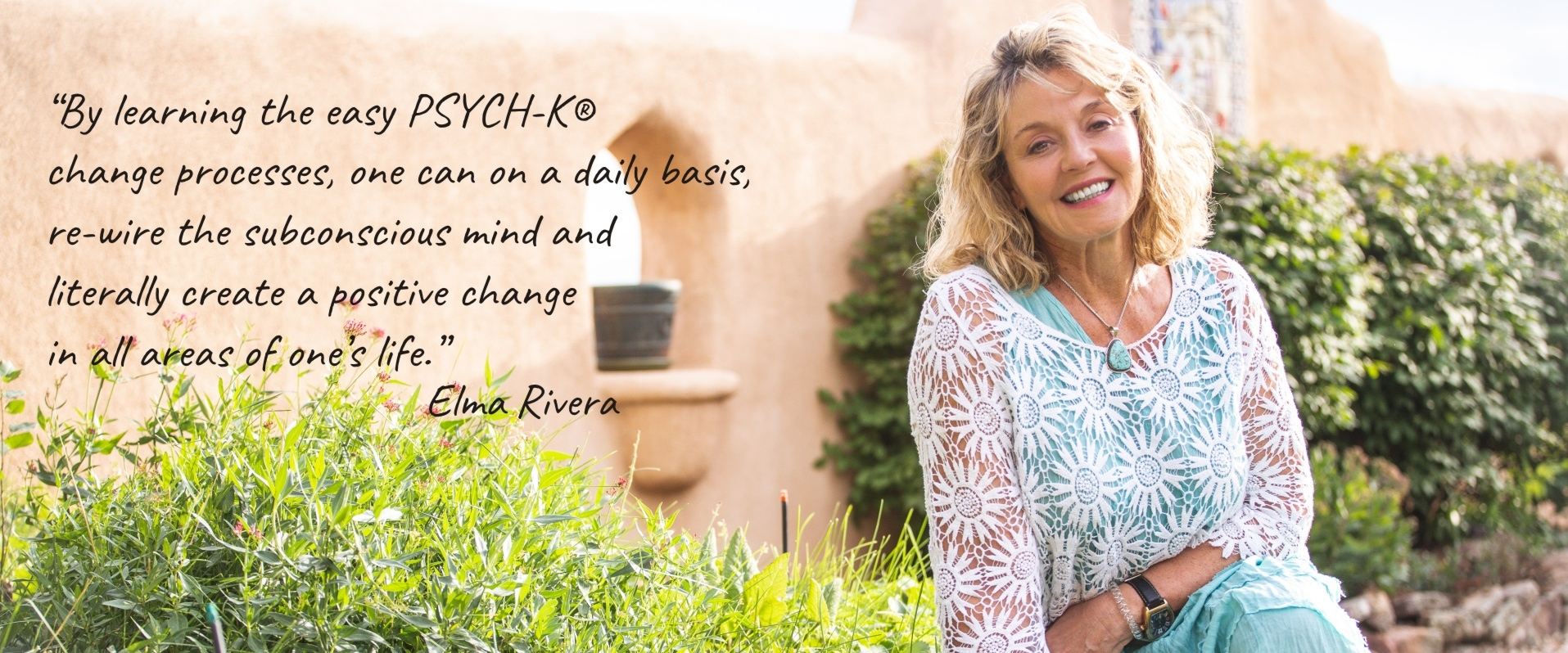 With the PSYCH-K change process you learn to re-wire the subconscious mind and create positive change.